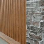 placare lemn si piatra